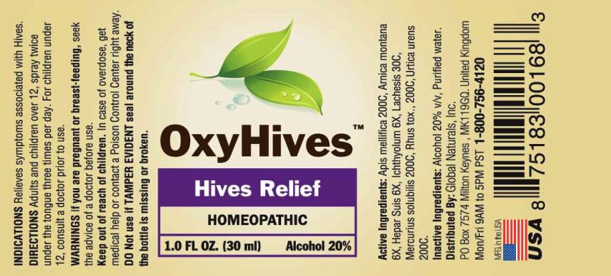 Oxyhive  Ingredients