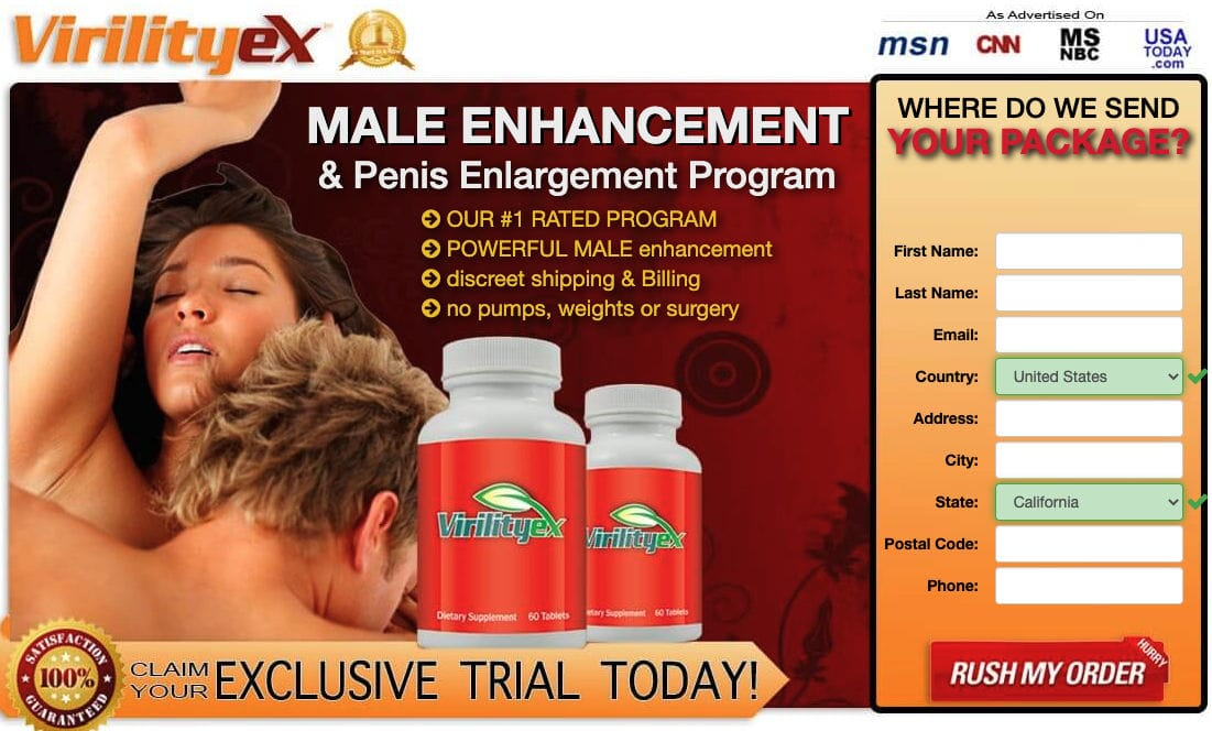 Virility Ex Male Enhancement Pills Buy Virility Ex Ufbusa